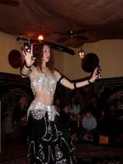 Dancer at Morocco Restaurant